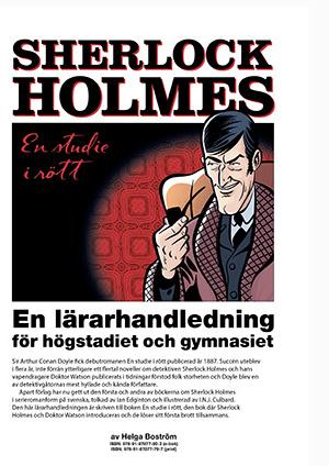 Lärarhandledning för Sherlock Holmes – En studie i rött (graphic novel) – gratis nedladdning